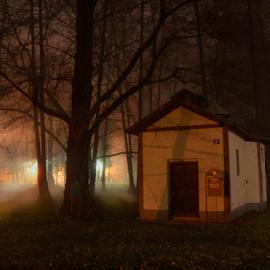 Little house by Predrag Uskokovic - City,  Street & Park  Night (  )
