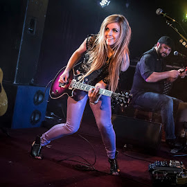Lindsay Ell by Philip Goddard - People Musicians & Entertainers ( lindsay, ruby, ell, lounge, manchester, gig )