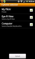 Screenshot of Eye-Fi