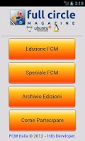 Screenshot of FCM Italia Mobile
