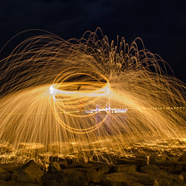 by Faizal Firdaus - Abstract Fire & Fireworks