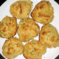 Scallion and Goat Cheese Drop Biscuits
