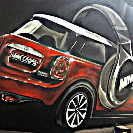 SI MINI COOPER by Edu Yoga - Drawing All Drawing