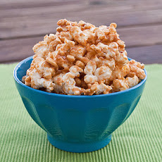 After School Peanut Butter and Honey Popcorn