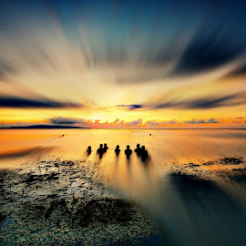 claudy in the morning by Arek Embongan - Landscapes Sunsets & Sunrises