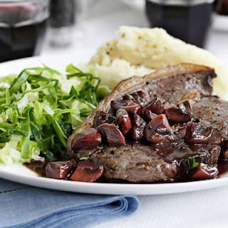 Red Wine Mushroom Sauce Steak Recipes