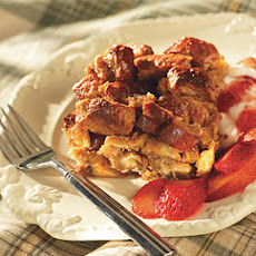 Peanut Butter Breakfast Bread Pudding