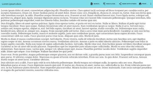 Office Documents Viewer (Pro) - screenshot