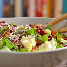 Escarole Salad with Parmesan Dressing