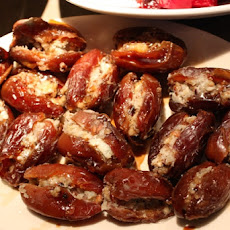 Dates Stuffed With Blue Cheese