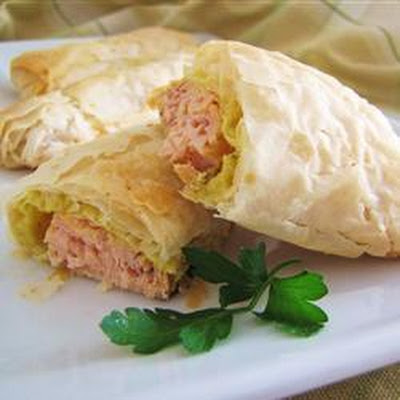 Wrapped Salmon