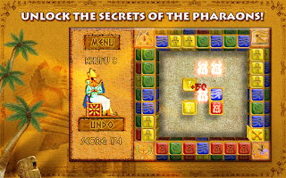 Screenshot of Brickshooter Egypt
