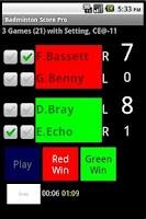 Screenshot of Badminton Score Pro - Free