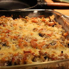 Brown Rice, Vegetable & Herb Gratin