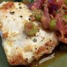 Bacon-Topped Turkey Medallions
