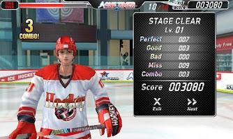 Screenshot of 아이스하키-원타이머 (무료)