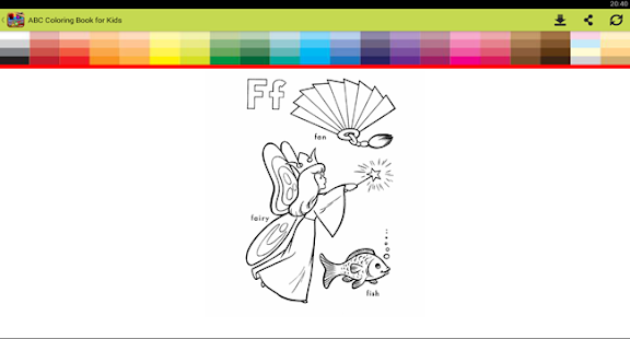 ABC Coloring Book for Kids - screenshot