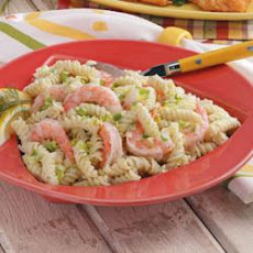 Rotini with Shrimp