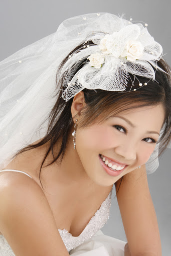 New model dress bride: Bridal Hairstyles