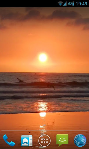 Sunset Relaxing Waves Live HD