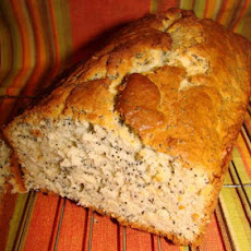 Banana Poppy Seed Quick Bread