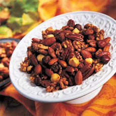 Spicy Herb Roasted Nuts
