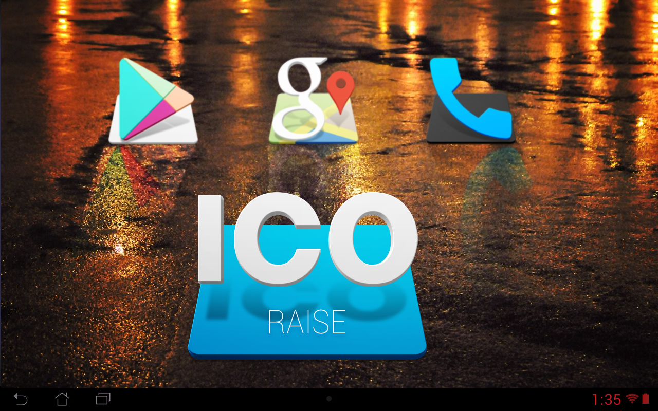 RAISE - Icon Pack Screenshot 2