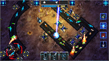 Screenshot of Towry 3 D Lite. Tower Defense