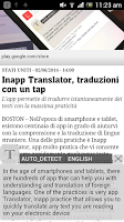 Screenshot of Inapp Translator
