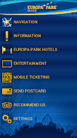 Screenshot of Europa-Park Guide