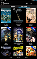 Screenshot of Dark Horse Comics