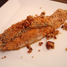 Spicy Sugar Crusted Salmon