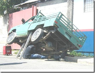 working-on-truck-unsafe
