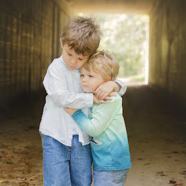 Brother's love by Martina Valekova - Babies & Children Children Candids