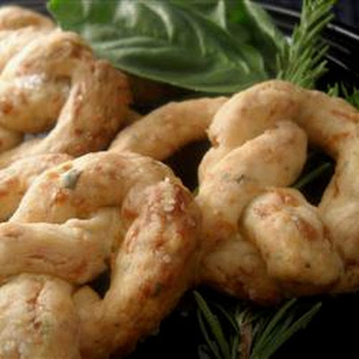 Herb Cheese Pretzels