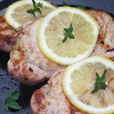 Grilled Lemon Herb Pork Chops