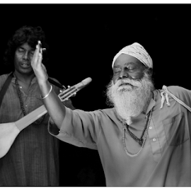 intense by Sankar Ghose - People Musicians & Entertainers ( music, baul, singers, india, musician, shantiniketan )