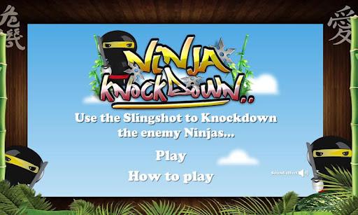 Slingshot Ninja Attack Game
