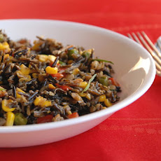 Wild Rice Salad With Tarragon Oil