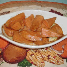 Whisky (Or Bourbon) Baked Sweet Potatoes (Or Yams)