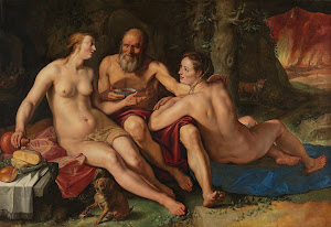 RIJKS: Hendrick Goltzius: Lot and his Daughters 1616