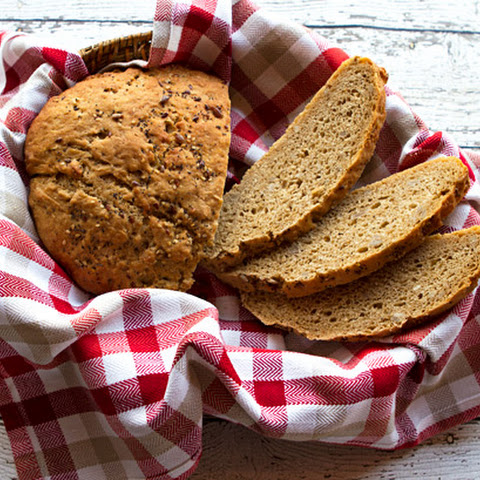 Mountain Rye Bread With Sunflower Seeds