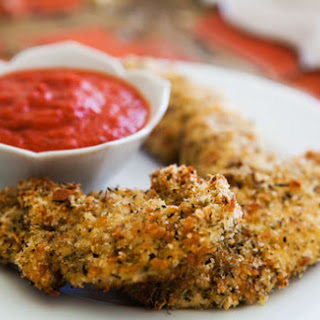 Herbed Chicken Tenders with Tomato Sauce