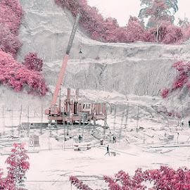 Construction by Ilham Kurniawan - Landscapes Forests