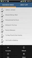 Screenshot of Junaid Jamshed - Nasheeds