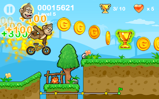Screenshot of BMX Crazy Bike