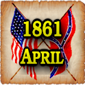1861 Apr Am Civil War Gazette icon
