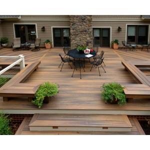 Acheter lame de terrasse lame de terrasse fiberon horizon for Modele de carrelage pour terrasse
