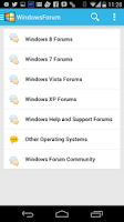 Screenshot of Windows Forums