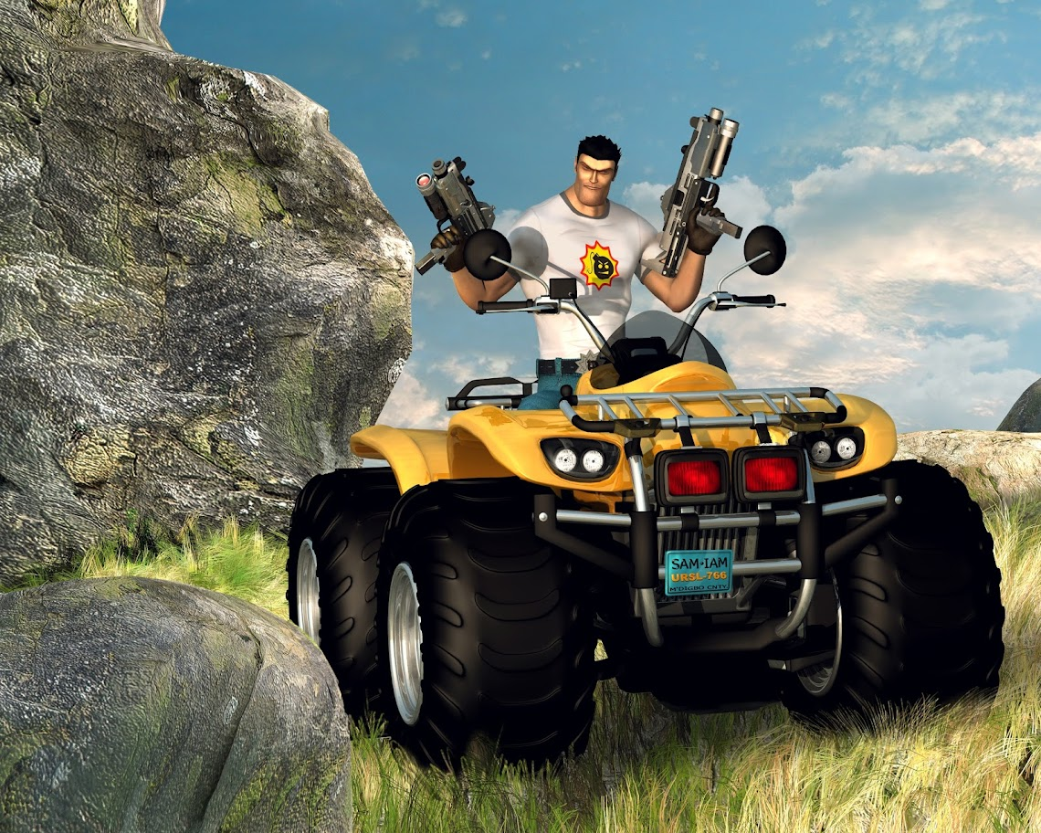 Serious Sam II Artwork